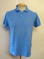 """Genuine Vintage Lacoste men's Blue Polo Shirt Size 36-38"""" S"""