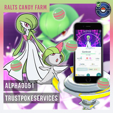Pokemon Go Gardevoir High CP - Ralts candies - Candy Farm