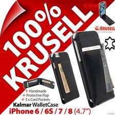 Krusell Kalmar GENUINE LEATHER Flip Case Wallet Cover Apple iPhone 6/ 6S / 7 / 8