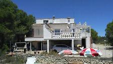 weisse Villa/Finca bei Alicante/Spanien mit Pool und Meerblick ruhige Traumlage