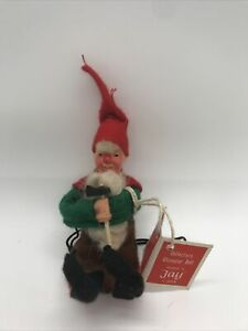RARE collectors character doll hand made by Jay of Dublin leprechaun