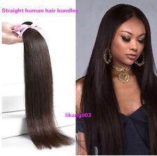 Brazilian Hair Bundle Straight 100%Human Hair Weave Remy Hair Weft Free Shipping