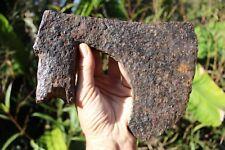 Amazing European Medieval Viking German (?) huge iron cutting Axe #12