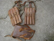 Thompson MP Magazintasche Leder Russisch / oder Jugo II MP40 Welt Krieg