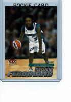 MARIE FERDINAND 2001 Ultra Fleer WNBA Rookie Card #133