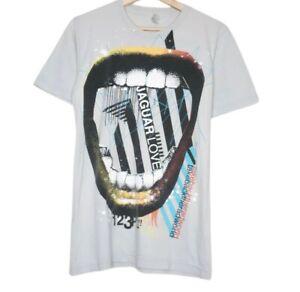 Jaguar Love Band Take Back The Rad World Mens Grey T-Shirt Size S Blood Brothers