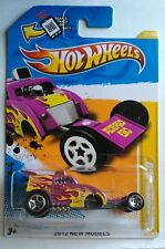 Hot Wheels 2010 NEW MODELS PURPLE W/FLAMES ALTERED EGO DIECAST 1:64 CAR NEW (A11