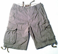 ABERCROMBIE & FITCH Cargo Shorts Grey Size 30 NEW RRP $189 Mens or Boys
