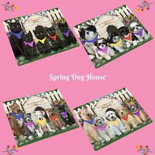Spring Dog House Small/Mini Magnets, Dogs, Cats, Pet Photo Magnet Gifts
