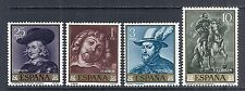 1962 Spain - SC 1111-1114, Complete Set of 4, Painting: Peter Paul Rubens - MNH*