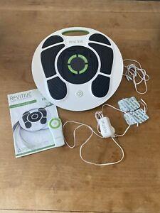 REVITIVE Medic Circulation Booster Rrp £299 Inc Manual Remote pads Etc