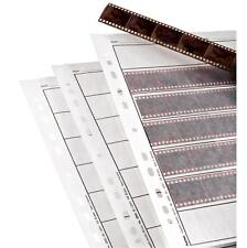 HAMA 35MM NEGATIVE STORAGE PAGES 2250 FOR RINGBINDER 25 FILING SHEETS NEG SLEEVE