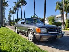 1988 Mercedes Benz 560SEC W126 C126 Automatik 560 SEC