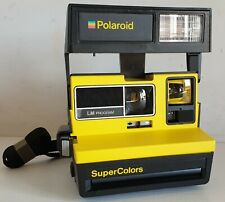 Polaroid Super Colors LM Program Gialla Vintage Rara