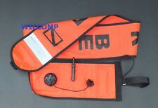 6ft Scuba Diving Safety Emergency Signal Orange Rescue Tube Sausage WIL-RT-1O