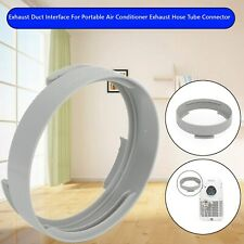 Exhaust Duct Interface For Portable Air Conditioner Exhaust Hose Tube Connector