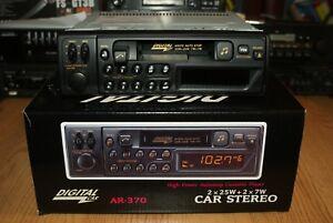Digital Car AR370 Vintage 90s NEW Boxed Classic Cassette Car Stereo MP3 Warranty