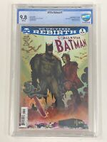 All Star Batman #1 - CBCS 9.8 John Romita Jr. Variant Cover + 2 FREE (#12 & #14)