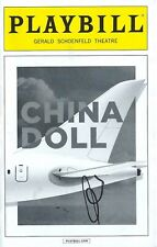 Al Pacino Signed China Doll Playbill Broadway. The Godfather, Scarface, Heat