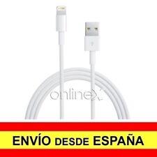 Cable USB a Conector 8 Pin Válido para APPLE de 1,5 Metros de Color Blanco a1115