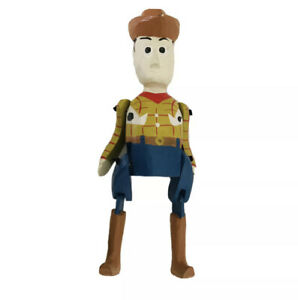 Toy Story SHERIFF WOODY  Handmade Painted Carved Figurine RARE Vintage GUC