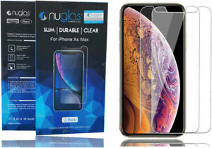 Nuglass Tempered Glass Screen Protector for APPLE iPhone X XS Max XR 11 Pro 876