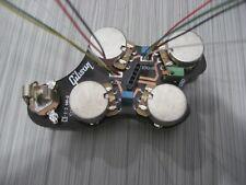gibson guitar electric SG pots control board .