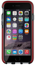 Genuine Tech21 EVO Mesh Case Cover for iPhone 6 6s Smokey Black/orange