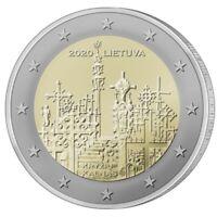 2 Euros Conmemorativos LITUANIA 2020 *Colina de las Cruces* Sin Circular