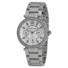 Michael Kors Parker Multi-Function Silver Ladies Watch MK5615