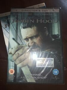 Robin Hood (DVD, 2010) Director's Cut Brand New And Factory Sealed Russell Crowe