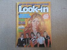 LOOK IN MAGAZINE, No 35 , 21st AUG 1976,- BAY CITY ROLLERS- Very Good condition