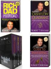 Rich Dad Poor Dad Classic Box Set Cashflow Quadrant,Guide to Investing Kiyosaki