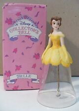 Belle From Beauty & The Beast Collector'S Bell Crystal & Porcelain Figurine