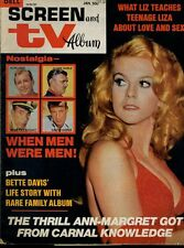 Ann-Margret Bette Davis Steve McQueen David Janssen Peggy Lipton Screen TV 71-72