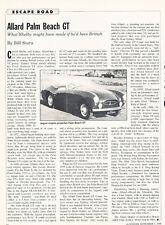 Allard Palm Beach GT V2931990- Classic Car Original Article H56