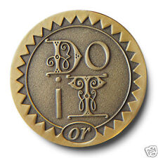 """Antique Bronze """"Do It"""" or """"Screw It"""" AA/Program  Recovery Coin/Token-Brand New!"""