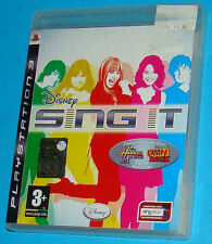 Disney Sing It - Sony Playstation 3 PS3 - PAL