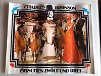 Zwischen zwölf und drei, Kinoplakat, Charles Bronson / Jill Ireland