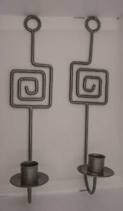 Geometric Candlestick, Candle Holder Wall Mounted Metal Ornaments