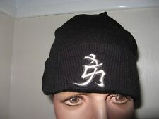 NEW BOYS CHILDS BLACK NEW YORK CHINESE SYMBOL SONIC KNITTED FASHION BEANIE HAT