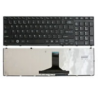 Replace For Toshiba Satellite P775-S7320 P775-S7365 Laptop US Keyboard w/ Frame