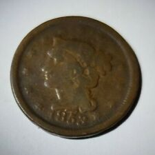 1953 Braided Hair Large Penny Very Nice