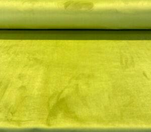 Maestro Green Apple Velvet Upholstery Drapery Fabric by the yard