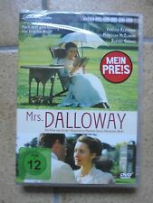 DVD: Mrs. Dalloway (Literaturverfilmung 1997 Vanessa Redgrave) Neu Ovp