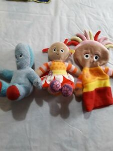 In The night Garden Plush/soft Bundle Igglepiggle Upsy Daisy and hand puppet