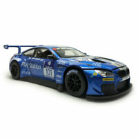 BMW M6 GT3 1:24 Scale Model Car Diecast Vehicle Toy Kids Gift Collection Blue