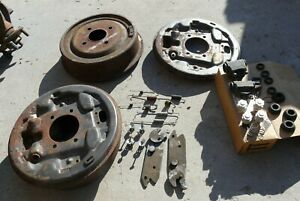 Merkur XR4Ti drum brake assemblies backing plates wheel cylinder spring kit