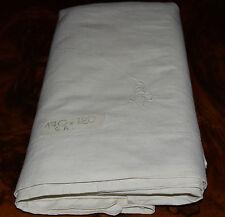 Lenzuolo piazza e mezza  lino G.A. cm. 170x280 Linen Bed Sheet B22 ^