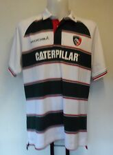 LEICESTER TIGERS 2015/16 S/S CLASSIC HOME JERSEY BY KOOGA SIZE EXTRA SMALL BOYS
